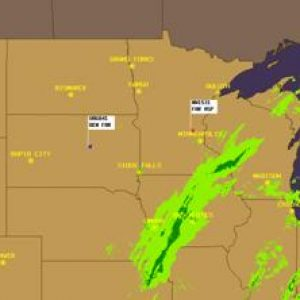 Airport Weather Map.Weather Map Hector International Airport