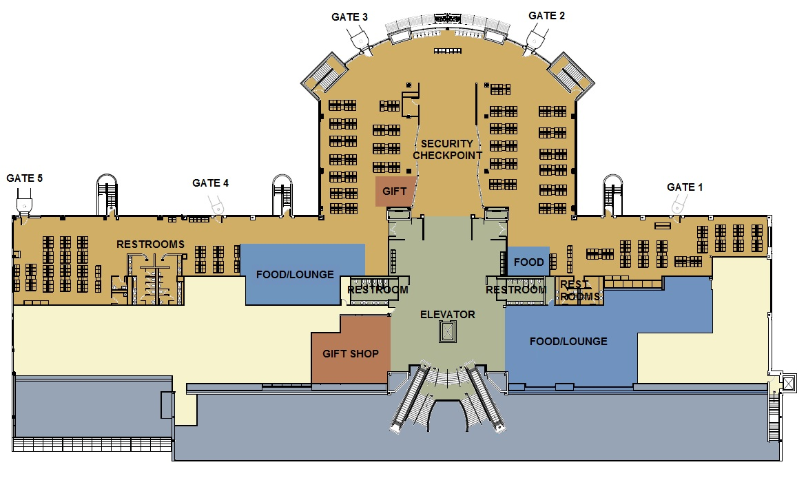 Airport Maps Hector International Airport