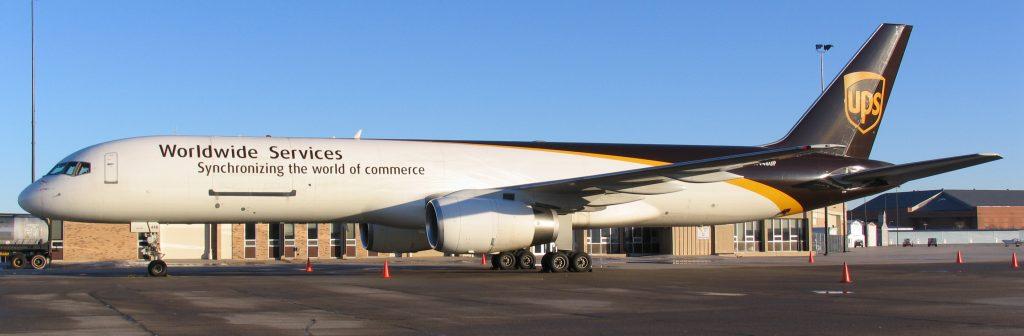 UPS Boeing 757